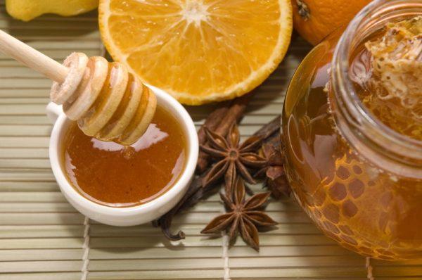 scortisoara cu miere